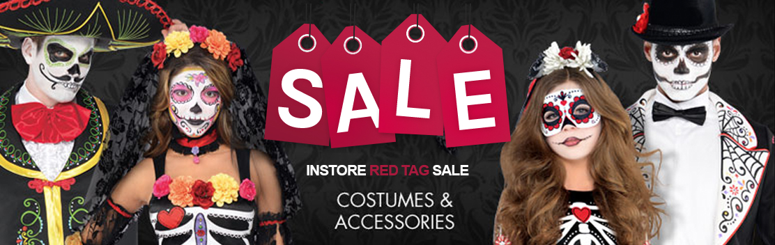 In Store Red Tag Halloween Sale