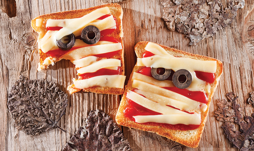 Halloween Toast Recipe for Kids