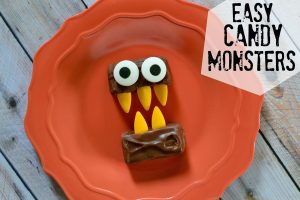 Easy Candy Halloween Monsters