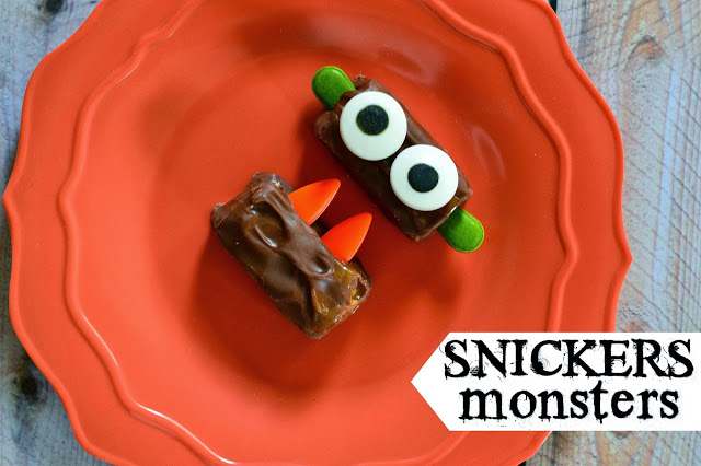 Snickers Monsters for Hallowwen