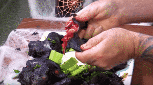 """How to make """"Bat Wings"""" for Halloween"""