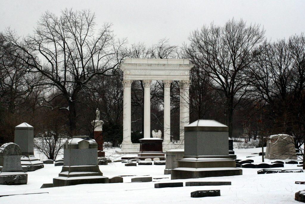 Graceland cemetery- known for its haunts