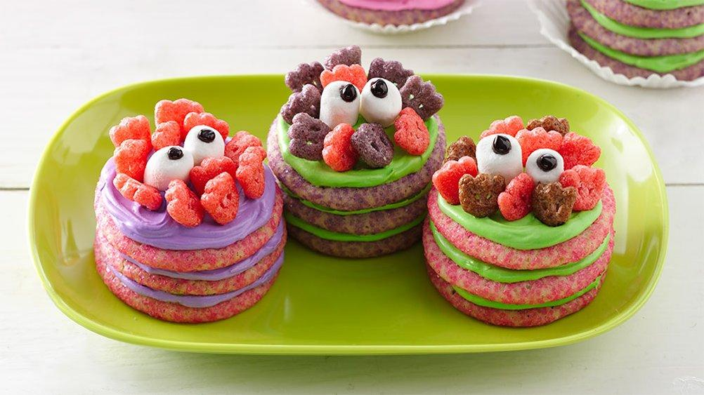 Halloween Cookie Stacks Recipe