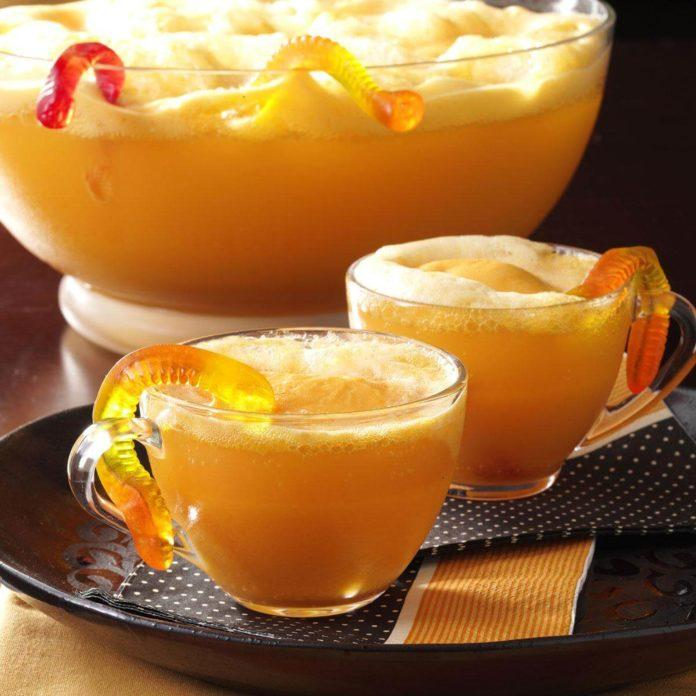 The Easiest Halloween Punch Recipe